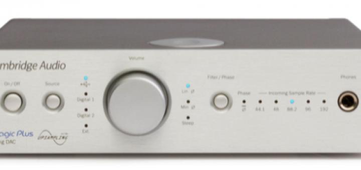 Cambridge Audio Dac Magic Plus - Front