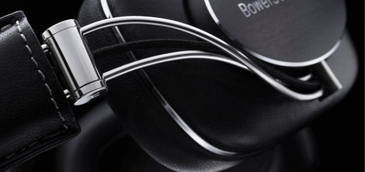 Mit Schwung: Der Bowers & Willkins P7 hat ein attraktives Äußeres.