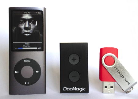 Cambridge Audio DacMagic XS - Größenvergleich