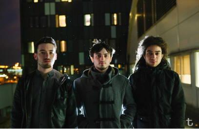 Wirken wie brave Jungs - sind sie aber nicht: Das Roller Trio aus Leeds.
