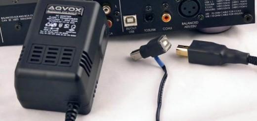 Sorgt für Extra-Spaß und Besser-Klang: das Aqvox USB-Netzteil