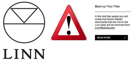 In Kürze wird Linn Records Studio Master Aufnahmen andere Label aus seinem Angebot entfernen