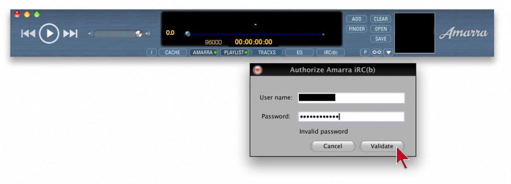 Um die Filter von iRC(b) nutzen zu können, muss die Software separat lizenziert werden