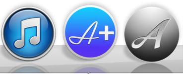 Audirvana Plus 2 hat ein neues Logo spendiert bekommen - eine Mischung zwischen iTunes und Amarra