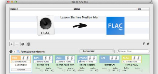 Flac To Any Pro - Startfenster
