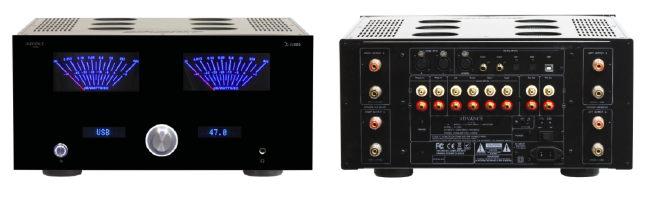 Vorne Tradition, hinten Symmetrie: Der Acvaced Acoustic X-i1000 integriert auch einen DAC und ermöglicht Class-A Betrieb