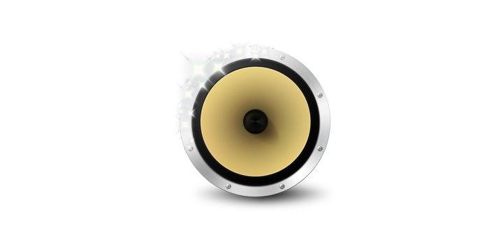 Lautsprecher mit Sternchen: BitPerfect hält sich diskret im Hintergrund und treibt iTunes die Akustik-Flausen aus
