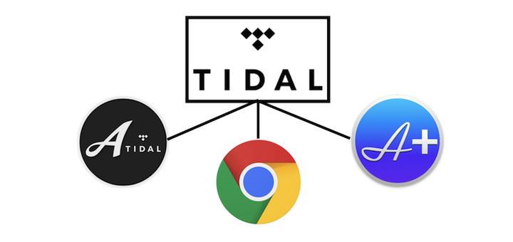 Die Qual der Wahl: Um Tidal zu streamen, kann ein Browser genügen, aber auch Audirvana Plus2 und Amarra for Tidal stehen parat, nur... - was klingt besser?