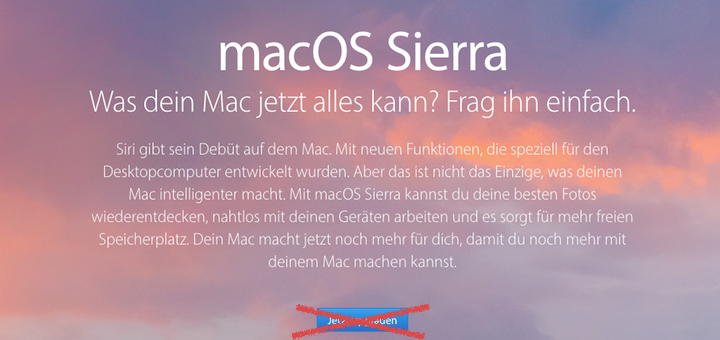 Vorsicht beim Upgrade auf macOS Sierra - das Betriebssystem hat keinen Integer Mode mehr an Bord!