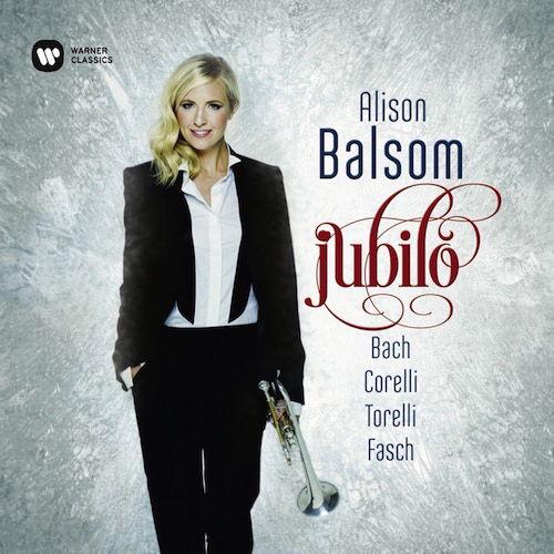 Auf Jubilo stimmt Alison Balsom mit Werken von  Fasch, Corelli, Torelli und Bach auf die Weihnachtszeit ein