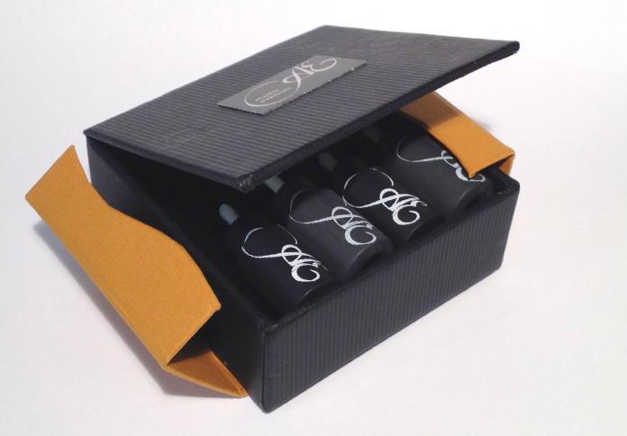 Wertig verpackt: Die Silentplugs kommen in einer aufwändig gearbeiteten Schachtel.