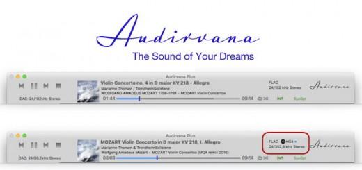 Audirvana Plus 3: Das Upgrade bringt als Zugewinn einen MQA-Decoder, der jeden DAC für das neue Format fit macht