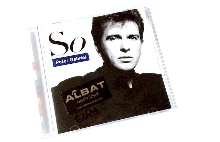 """Mit Albat Technologie verdelt: Die CD """"So"""" von Peter Gabriel gewinnt eindeutig – und die Anlage noch mehr"""