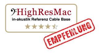 test in-akustik referenz cable base - ergebnis: 4,5 sterne - empfehlung