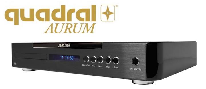 Auch der neue CD-Player Aurum C8 ist mit technologischen Finessen ausgestattet