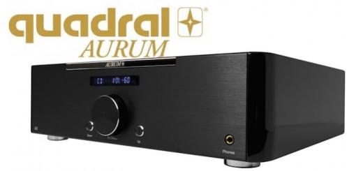 Der neue Vollverstärker Aurum A8 glänzt mit aufwändiger Konstruktion und erlesenen Materialien, verspricht Hersteller quadral