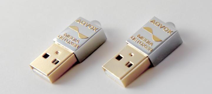 Die Aqvox USB Detoxer Terminator räumen den USB Bus auf und verbessern den Klang eindeutig