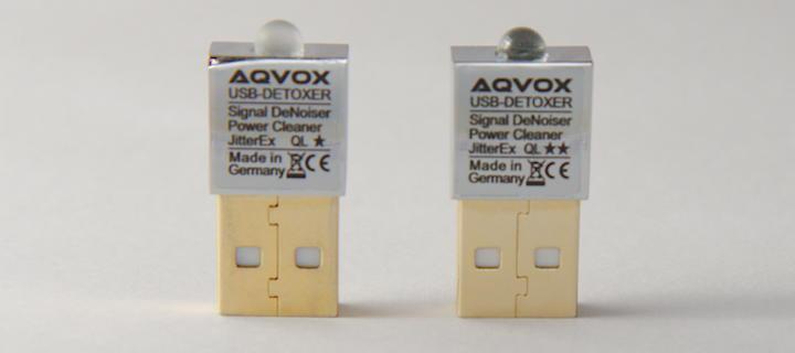Fleißsternchen? Der Aqvox USB Detoxer Terminator QL1 hat ein * und eine matte Glaskugel, der Aqvox USB Detoxer Terminator QL2 hat zwei ** und eine klare Glaskugel.