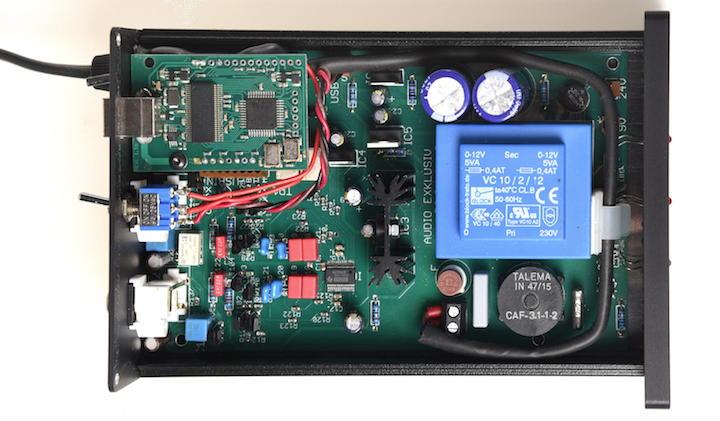 Innenleben mit Herz von Burr Brown: Bei den Komponenten setzt Audio Exclusiv auf Qualität
