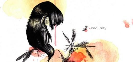 Mit Red Sky legen das Saxophon-Trommel-Trio Moon Hooch ihr drittes Album mit Dancefloor-Punk-Jazz vor