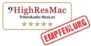 Test TritonAudio NeoLev - Ergebnis: 5 Sterne und Referenz