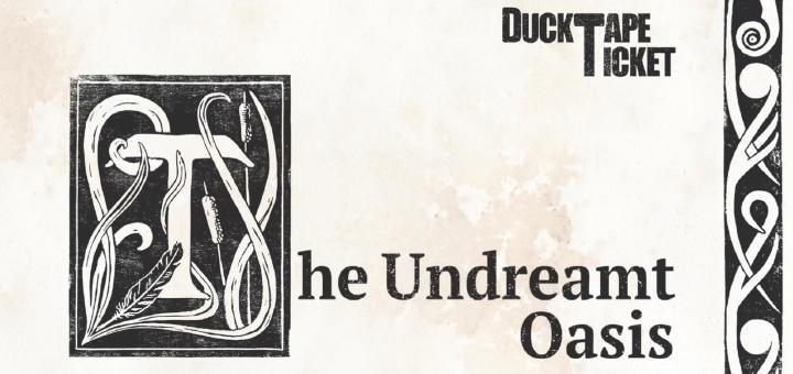 The Undreamt Oasis von DuckTapeTicket ist eine vielfältige Mischung aus Streicher-Jazz mit Rhythmus-Gruppe und manchmal auch Gesang