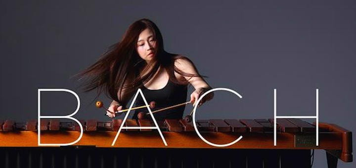 kuniko plays bach solo works for marimba - teaser