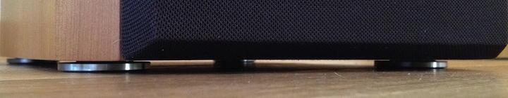lautsprecher-box mit in-akustik exzellenz gel absorbern
