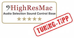 Audio Selection Sound Control Base - HighResMac Tuning-Tipp - 5 Sterne