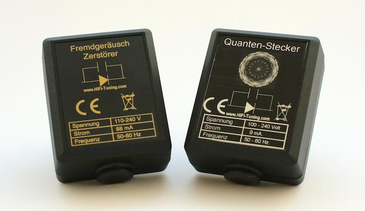 Traum-Duo für Traumk-Känge? Fremdgeräusch-Zerstörer und Quanten-Stecker von HiFi-Tuning