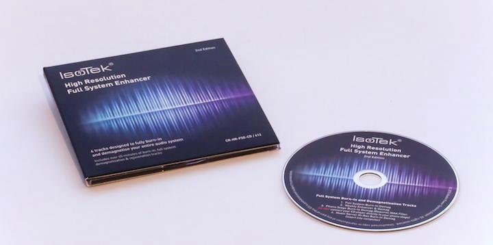 Dreht den Klang auf die Füße: Die IsoTek Full System Enhancer CD sorgt für einen erheblichen aha-Effekt