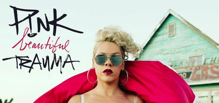 p!nk beautiful trauma teaser