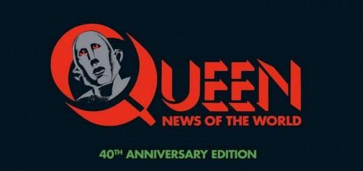 Gewaltig: Die 40th Anniversary Edition des Queen-Albums News Of The World besteht aus 3 CDs, einer DVD und einer LP und liefert 41 Songs
