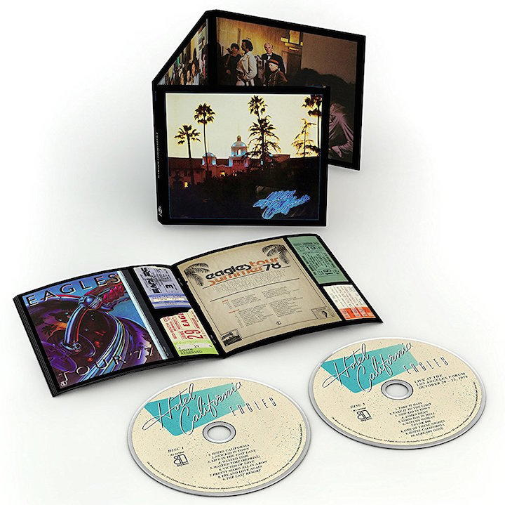 Mit Bonus-CD: The Eagles - Hotel California 40th Anniversary Edition