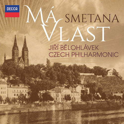 """Die Einspielung von Smetanas """"Mein Vaterland""""  durch die Czech Philharmonic unter Jiří Bělohlávek ist ein schönes Album"""