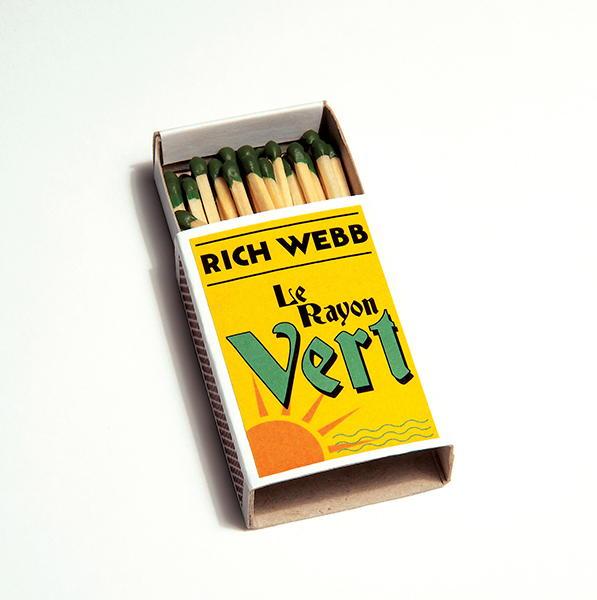Das jüngste Album La Rayon Vert von Rich Webb ist eine bunte Mischung aus blusigen und rockigen Songs