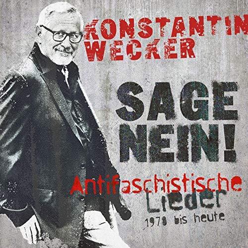 Für die guten Zwecke: Konstantin Wecker singt gegen Faschismus an und spendet vom CD-Erlös an die antifaschistischen Informations-, Dokumentations- und Archivstelle München