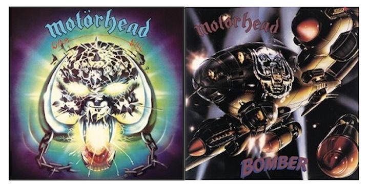 Nach 40 Jahren gibt es die Alben Overkill und Bomber von Motörhead jetzt als Jubiläums-Ausgabe mit je einem Konzert-Mitschnitt