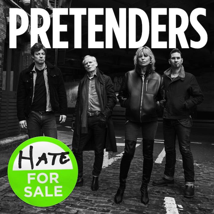 Hate for Sale, das jüngste Album der Pretenders, ist ein würdiger Nachfolger ihrer ersten Longplayer