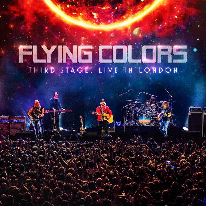 Third Stage: Live in London heißt der Konzertmitschnitt, den die Flying Colors jetzt in verschiedenen Varianten auf den Markt bringen