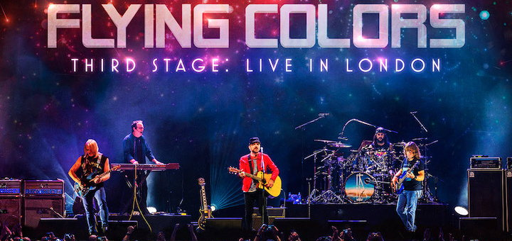 flying colors - third stage - live in london - teaser