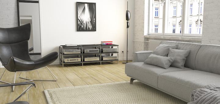 La Terrazza heißt die hochwertige Rack-Serie von ASN, die sich auch gut in moderne Wohnambiente einfügen