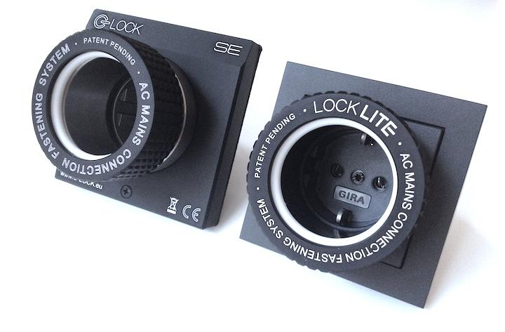 Zweieiige Zwillinge: Die Steckdosen Lock Lite und C-Lock